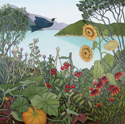 Darting Through the Kitchen Garden, by Clare Reilly (2010)